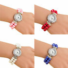 Vogue Women Girl Bracelet Watch Analog Quartz Elegant Casual Wrist Watch Gift image