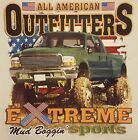 OUTFITTERS EXTREME BOGGIN' 4X4 TRUCK MUDDIN' RACING MUD  #329 LONG SLEEVES SHIRT