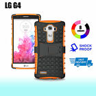 Premium Heavy Duty Shock Proof Tough Cover Case for LG G4