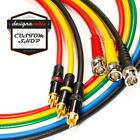 BNC to RCA lead. RG59 Composite Video, CCTV, Wordclock SMPTE 75ohm Coaxial Cable