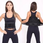 Back Lumbar Support belt With Adjustable Compression Pull Straps, Padded UNISEX