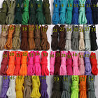 100 FT 550 Paracord Parachute Cord Lanyard Mil Spec Type III 7 Strand Core New