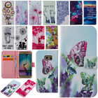 Cute Flip Leather Case Wallet Cover For Samsung Galaxy S4 S5 S6 S7 A5 A7 J1 J7