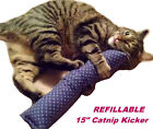 "15"" Catnip Cat Kicker Toy W/Catnip Pocket - Kitty Kicker"