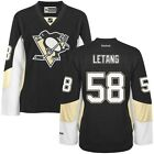 Kris LETANG Reebok Premier Officially Licensed NHL Womens Jersey size 2XL