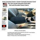 Auto Center Console Cover-Fleece-Custom Fit for Vehicles Listed (SB3FL)