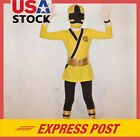 cosplay costumes power rangers - Yellow Boy Power Rangers Costume Kids Samurai Cosplay Child Bodysuit Outfit Boys