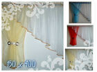 SALE     White Voile Net Curtain  Ready Made