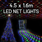 4.5 x 1.6m 320 LED Net Christmas Lights 8 Function Outdoor Wedding Party Bright