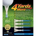 """4 Yards More Golf Tees - Available 1 3/4"""", 2 3/4"""", 3 1/4"""", 4"""" and Variety Pack"""