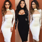 Fashion Womens Bodycon Bandage Dress Ladies Cocktail Party Evening Pencil Dress