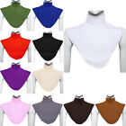 Women's Turtleneck Neck Cover Dickey Collar Bib Muslim Moslem Hijab Islamic