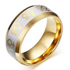 18K Gold Rings For Women Lesbian Wedding Ring Female Gay Pride Jewelry