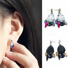 New Fashion Women Luxury Rhinestone Tassels Water Drop Flower Statement Earrings