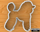 Poodle Dog Cookie Cutter, Selectable sizes