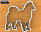 Husky Dog Cookie Cutter, Selectable sizes