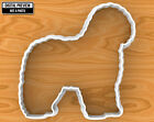 Old English Sheepdog Dog Cookie Cutter, Selectable sizes