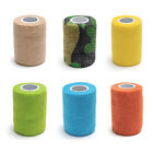 Pet Dog Cat Vet Wound Non-woven Cohesive Bandage Tape Self Adherent Wrap