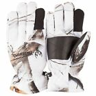 Huntworth Waterproof Snow Camo Fleece 40G Gloves  Oak Tree Hunting Camo