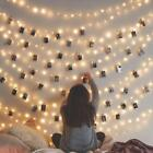20 LEDs Warm White/Colorful Clip String Lights Party Photo Peg Xmas Decor NEW