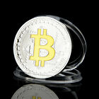New Gold Silver Iron Challenge Coin Bitcoin Digital Decentralized Iron Metal