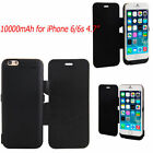 10000mAh External Battery Pack Power Bank Case Flip Cover Charger For iPhone 6s