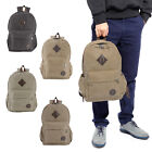 Sac a Dos Double Epaule Canevas Backpack Fourre-tout Portable Casual Ecole