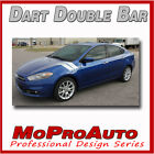 2013 2014 2015 2016 Dodge Dart SXT SE GT DOUBLE BAR Decals Stripe 3M Pro Vinyl $145.81 CAD on eBay