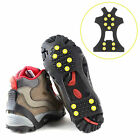 Snow cleats Anti-Slip overshoes Studded Ice Traction shoe covers Spike DS
