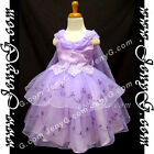 SPP8 Girls Wedding Pageant Communion Graduation Formal Birthday Prom Party Dress