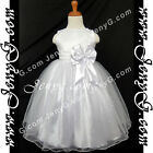SBW8 Girls Wedding Graduation Cocktail First Holy Communion Birthday Gown Dress