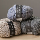JO SHARP Silkroad Aran Tweed - 50gm - Various Colours Available