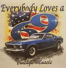 EVERYONE LOVES A 69 CLASSIC CAR VINTAGE MUSCLE #1480 LONG SLEEVES SHIRT
