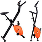 Folding Exercise Adjustable Bike  Magnetic Cycling Home Trainer Fitness Machine