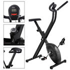 Folding Exercise Adjustable Bike  Magnetic Cycling Home Trainer Fitness Machi