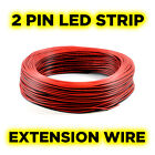 2-Pin Flexible Extension Cable Wire for Single Colour LED Strip - 1 to 100 Metre