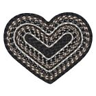 Heart Shaped Braided Cotton Blend Placemat, #60-313