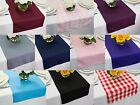 Внешний вид - 14 x 108 inch Polyester Table Runners, Multiple Colors & Multiple Sizes
