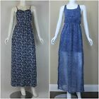 ABERCROMBIE & FITCH WOMEN'S FLORAL MAXI DRESS NWT SIZES MEDIUM, LARGE