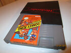 NES NINTENDO GAME DONKEY KONG CLASSICS   CARTRIDGE AND DUST COVER