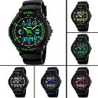 Mens Boys Waterproof Digital Shock Sports Wrist Watch Skmei G LED Quartz 5 ATM