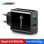 UGREEN USB Charger Qualcomm Quick Charge 3.0 USB Wall Charger For Samsung Huawei