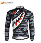 Long Sleeve Men's Cycling Sportswear Jerseys MTB Road Bicycle Jersey Jacket Tops
