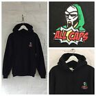 Actual Fact MF Doom All Caps Embroidered Hoody Hooded Sweatshirt