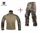 Tactical G3 BDU Emerson Airsoft Combat Hunting Uniform Clothing Woodland Camo