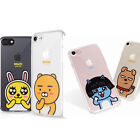 KAKAO TALK FRIENDS Jelly Case iPhone  6, 6 Plus, 7 Cell Phone  Cover Protector