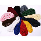 Ladies Women Soft Rayon Hairband Snood Crochet Hair Net
