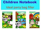 6, 20,30 children small FARM NOTEPAD NOTEBOOK party bag filler toy girl boy kid