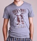 Lucky Brand T-Shirt Rock N Roll Circus Vintage style rare V-neck XL Last NWT