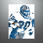 Barry Sanders Detroit Lions Poster FREE US SHIPPING $25.0 USD on eBay